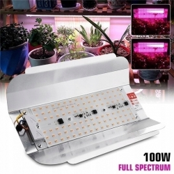 REFLEKTOR HALOGEN GROW 100W led DO UPRAWY ROŚLIN